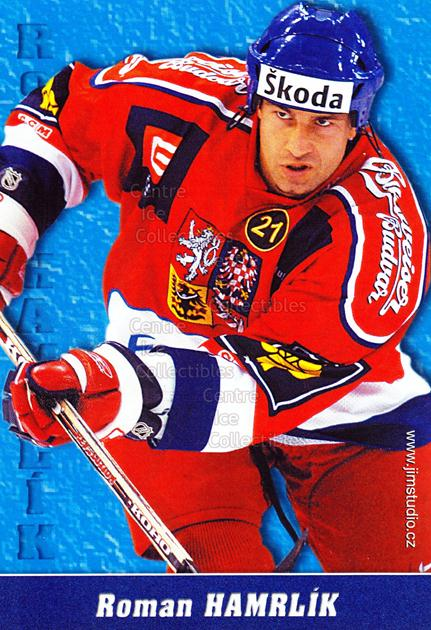 2004-05 Czech National Team Postcards #5 Roman Hamrlik<br/>1 In Stock - $3.00 each - <a href=https://centericecollectibles.foxycart.com/cart?name=2004-05%20Czech%20National%20Team%20Postcards%20%235%20Roman%20Hamrlik...&quantity_max=1&price=$3.00&code=598779 class=foxycart> Buy it now! </a>
