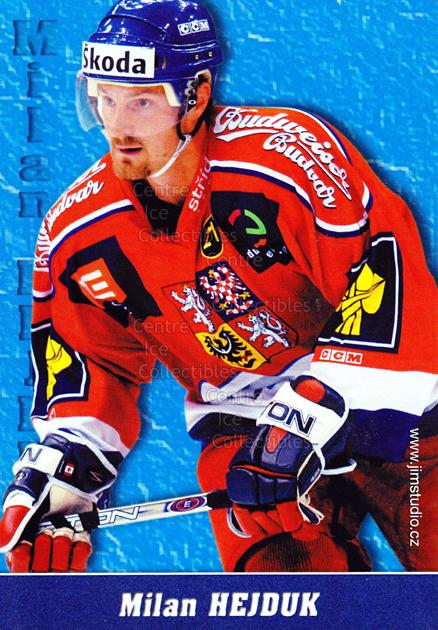 2004-05 Czech National Team Postcards #7 Milan Hejduk<br/>1 In Stock - $3.00 each - <a href=https://centericecollectibles.foxycart.com/cart?name=2004-05%20Czech%20National%20Team%20Postcards%20%237%20Milan%20Hejduk...&quantity_max=1&price=$3.00&code=598781 class=foxycart> Buy it now! </a>
