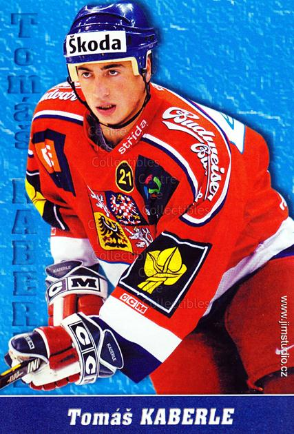 2004-05 Czech National Team Postcards #9 Tomas Kaberle<br/>1 In Stock - $3.00 each - <a href=https://centericecollectibles.foxycart.com/cart?name=2004-05%20Czech%20National%20Team%20Postcards%20%239%20Tomas%20Kaberle...&quantity_max=1&price=$3.00&code=598783 class=foxycart> Buy it now! </a>