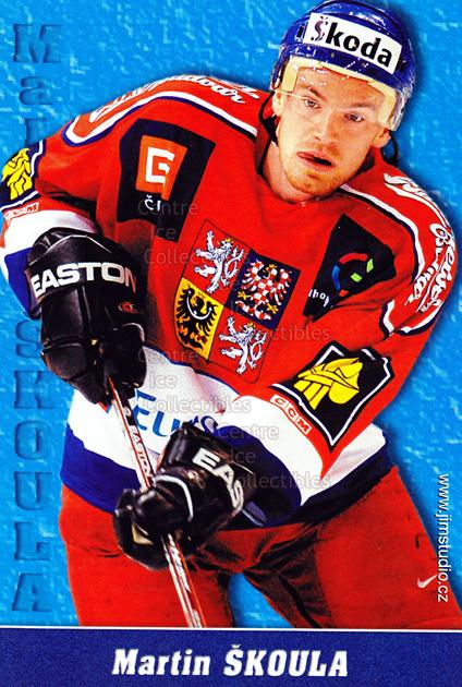 2004-05 Czech National Team Postcards #10 Martin Skoula<br/>1 In Stock - $3.00 each - <a href=https://centericecollectibles.foxycart.com/cart?name=2004-05%20Czech%20National%20Team%20Postcards%20%2310%20Martin%20Skoula...&quantity_max=1&price=$3.00&code=598784 class=foxycart> Buy it now! </a>