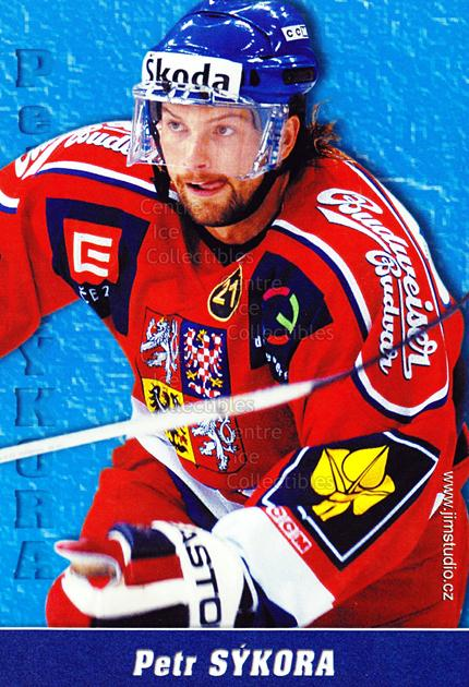 2004-05 Czech National Team Postcards #12 Petr Sykora<br/>1 In Stock - $3.00 each - <a href=https://centericecollectibles.foxycart.com/cart?name=2004-05%20Czech%20National%20Team%20Postcards%20%2312%20Petr%20Sykora...&quantity_max=1&price=$3.00&code=598786 class=foxycart> Buy it now! </a>