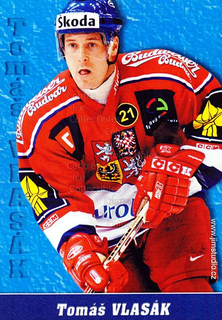 2004-05 Czech National Team Postcards #14 Tomas Vlasak<br/>2 In Stock - $3.00 each - <a href=https://centericecollectibles.foxycart.com/cart?name=2004-05%20Czech%20National%20Team%20Postcards%20%2314%20Tomas%20Vlasak...&quantity_max=2&price=$3.00&code=598788 class=foxycart> Buy it now! </a>