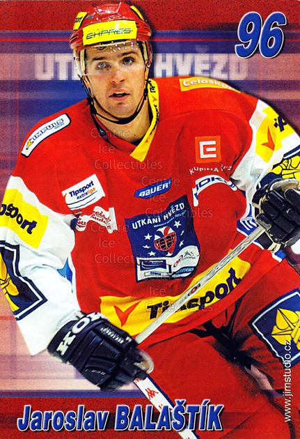 2004-05 Czech Extraliga AS Postcards #1 Jaroslav Balastik<br/>1 In Stock - $3.00 each - <a href=https://centericecollectibles.foxycart.com/cart?name=2004-05%20Czech%20Extraliga%20AS%20Postcards%20%231%20Jaroslav%20Balast...&quantity_max=1&price=$3.00&code=598791 class=foxycart> Buy it now! </a>