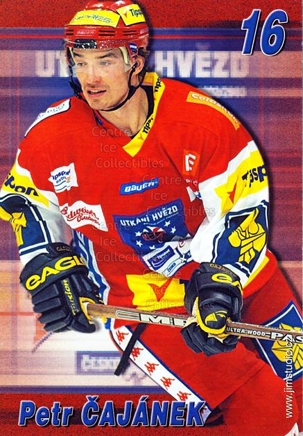 2004-05 Czech Extraliga AS Postcards #2 Petr Cajanek<br/>1 In Stock - $3.00 each - <a href=https://centericecollectibles.foxycart.com/cart?name=2004-05%20Czech%20Extraliga%20AS%20Postcards%20%232%20Petr%20Cajanek...&quantity_max=1&price=$3.00&code=598792 class=foxycart> Buy it now! </a>