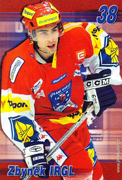 2004-05 Czech Extraliga AS Postcards #5 Zbynek Irgl<br/>2 In Stock - $3.00 each - <a href=https://centericecollectibles.foxycart.com/cart?name=2004-05%20Czech%20Extraliga%20AS%20Postcards%20%235%20Zbynek%20Irgl...&quantity_max=2&price=$3.00&code=598796 class=foxycart> Buy it now! </a>