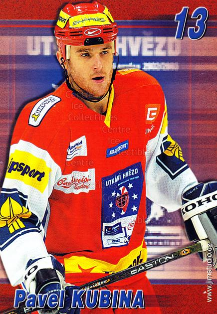 2004-05 Czech Extraliga AS Postcards #8 Pavel Kubina<br/>1 In Stock - $3.00 each - <a href=https://centericecollectibles.foxycart.com/cart?name=2004-05%20Czech%20Extraliga%20AS%20Postcards%20%238%20Pavel%20Kubina...&quantity_max=1&price=$3.00&code=598798 class=foxycart> Buy it now! </a>