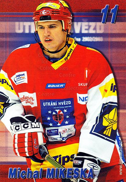 2004-05 Czech Extraliga AS Postcards #10 Michal Mikeska<br/>2 In Stock - $3.00 each - <a href=https://centericecollectibles.foxycart.com/cart?name=2004-05%20Czech%20Extraliga%20AS%20Postcards%20%2310%20Michal%20Mikeska...&quantity_max=2&price=$3.00&code=598800 class=foxycart> Buy it now! </a>
