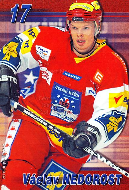 2004-05 Czech Extraliga AS Postcards #12 Vaclav Nedorost<br/>2 In Stock - $3.00 each - <a href=https://centericecollectibles.foxycart.com/cart?name=2004-05%20Czech%20Extraliga%20AS%20Postcards%20%2312%20Vaclav%20Nedorost...&quantity_max=2&price=$3.00&code=598802 class=foxycart> Buy it now! </a>