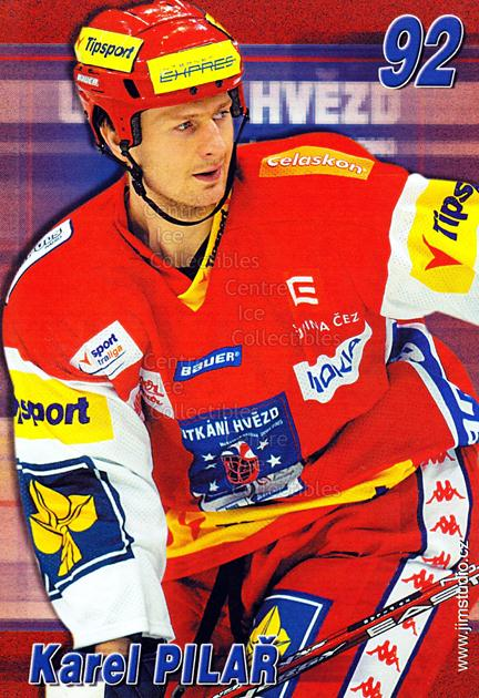 2004-05 Czech Extraliga AS Postcards #13 Karel Pilar<br/>2 In Stock - $3.00 each - <a href=https://centericecollectibles.foxycart.com/cart?name=2004-05%20Czech%20Extraliga%20AS%20Postcards%20%2313%20Karel%20Pilar...&quantity_max=2&price=$3.00&code=598803 class=foxycart> Buy it now! </a>