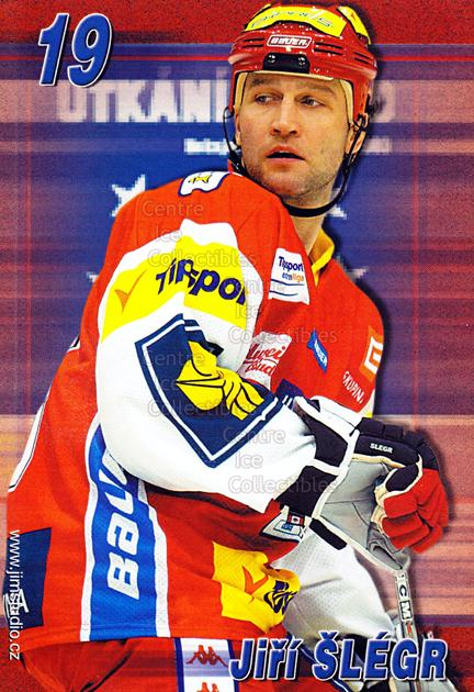2004-05 Czech Extraliga AS Postcards #17 Jiri Slegr<br/>2 In Stock - $3.00 each - <a href=https://centericecollectibles.foxycart.com/cart?name=2004-05%20Czech%20Extraliga%20AS%20Postcards%20%2317%20Jiri%20Slegr...&quantity_max=2&price=$3.00&code=598807 class=foxycart> Buy it now! </a>
