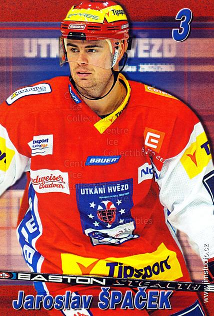 2004-05 Czech Extraliga AS Postcards #18 Jaroslav Spacek<br/>2 In Stock - $3.00 each - <a href=https://centericecollectibles.foxycart.com/cart?name=2004-05%20Czech%20Extraliga%20AS%20Postcards%20%2318%20Jaroslav%20Spacek...&quantity_max=2&price=$3.00&code=598808 class=foxycart> Buy it now! </a>