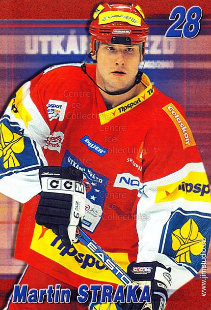 2004-05 Czech Extraliga AS Postcards #19 Martin Straka<br/>1 In Stock - $3.00 each - <a href=https://centericecollectibles.foxycart.com/cart?name=2004-05%20Czech%20Extraliga%20AS%20Postcards%20%2319%20Martin%20Straka...&quantity_max=1&price=$3.00&code=598809 class=foxycart> Buy it now! </a>