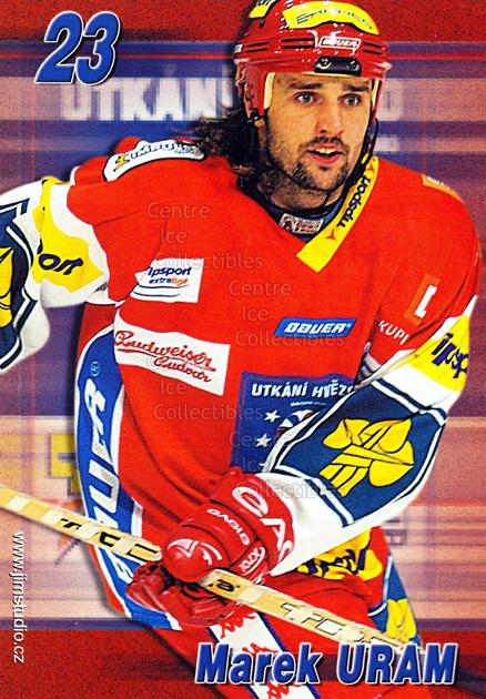 2004-05 Czech Extraliga AS Postcards #20 Marek Uram<br/>1 In Stock - $3.00 each - <a href=https://centericecollectibles.foxycart.com/cart?name=2004-05%20Czech%20Extraliga%20AS%20Postcards%20%2320%20Marek%20Uram...&quantity_max=1&price=$3.00&code=598810 class=foxycart> Buy it now! </a>