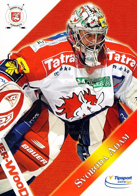 2003-04 Czech HC Pardubice Postcards #14 Adam Svoboda<br/>3 In Stock - $3.00 each - <a href=https://centericecollectibles.foxycart.com/cart?name=2003-04%20Czech%20HC%20Pardubice%20Postcards%20%2314%20Adam%20Svoboda...&quantity_max=3&price=$3.00&code=598816 class=foxycart> Buy it now! </a>