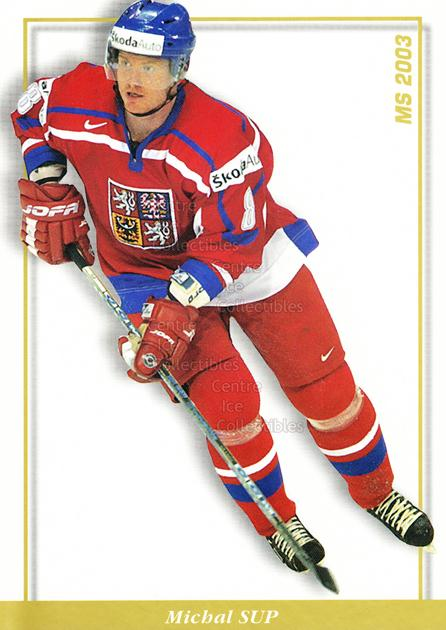 2003-04 Czech National Team Postcards #41 Michal Sup<br/>1 In Stock - $3.00 each - <a href=https://centericecollectibles.foxycart.com/cart?name=2003-04%20Czech%20National%20Team%20Postcards%20%2341%20Michal%20Sup...&quantity_max=1&price=$3.00&code=598822 class=foxycart> Buy it now! </a>