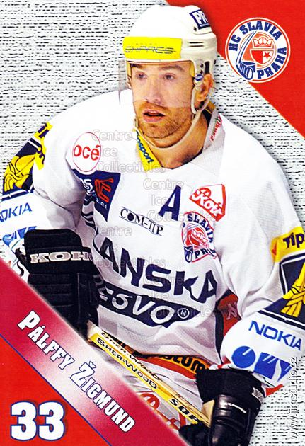 2004-05 Czech HC Slavia Praha Postcards #9 Zigmund Palffy<br/>2 In Stock - $5.00 each - <a href=https://centericecollectibles.foxycart.com/cart?name=2004-05%20Czech%20HC%20Slavia%20Praha%20Postcards%20%239%20Zigmund%20Palffy...&price=$5.00&code=598824 class=foxycart> Buy it now! </a>