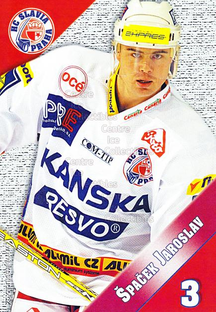 2004-05 Czech HC Slavia Praha Postcards #11 Jaroslav Spacek<br/>3 In Stock - $3.00 each - <a href=https://centericecollectibles.foxycart.com/cart?name=2004-05%20Czech%20HC%20Slavia%20Praha%20Postcards%20%2311%20Jaroslav%20Spacek...&price=$3.00&code=598825 class=foxycart> Buy it now! </a>