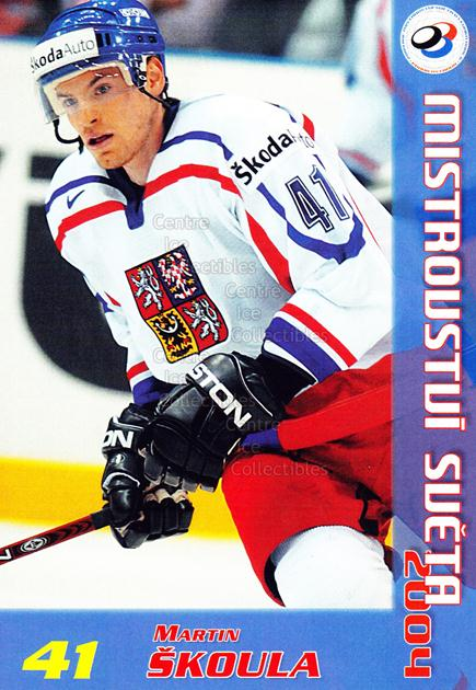 2004-05 Czech World Championship Postcards #19 Martin Skoula<br/>1 In Stock - $3.00 each - <a href=https://centericecollectibles.foxycart.com/cart?name=2004-05%20Czech%20World%20Championship%20Postcards%20%2319%20Martin%20Skoula...&quantity_max=1&price=$3.00&code=598833 class=foxycart> Buy it now! </a>