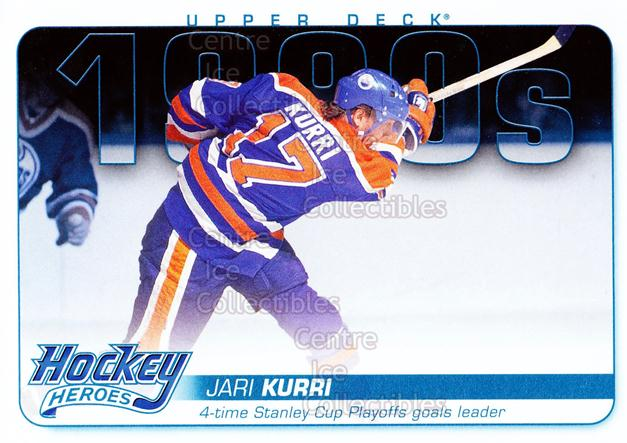 2012-13 Upper Deck Hockey Heroes #44 Jari Kurri<br/>2 In Stock - $3.00 each - <a href=https://centericecollectibles.foxycart.com/cart?name=2012-13%20Upper%20Deck%20Hockey%20Heroes%20%2344%20Jari%20Kurri...&quantity_max=2&price=$3.00&code=598935 class=foxycart> Buy it now! </a>