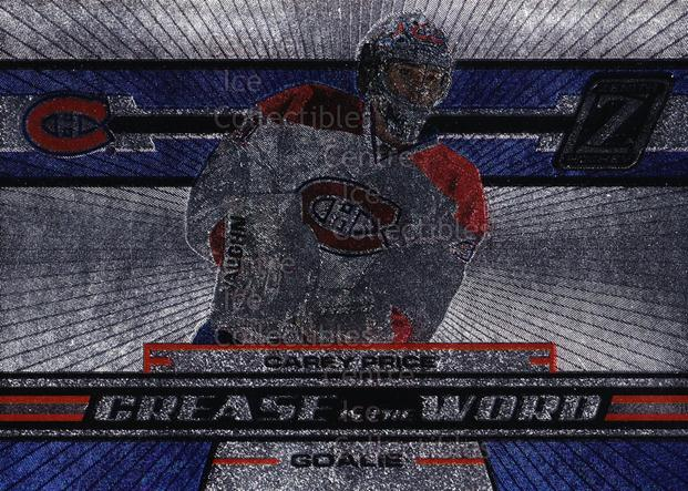2010-11 Zenith Crease Is The Word #3 Carey Price<br/>1 In Stock - $5.00 each - <a href=https://centericecollectibles.foxycart.com/cart?name=2010-11%20Zenith%20Crease%20Is%20The%20Word%20%233%20Carey%20Price...&quantity_max=1&price=$5.00&code=598945 class=foxycart> Buy it now! </a>
