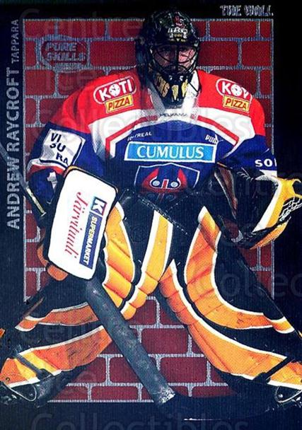 2004-05 Swedish Pure Skills The Wall #AR Andrew Raycroft<br/>1 In Stock - $5.00 each - <a href=https://centericecollectibles.foxycart.com/cart?name=2004-05%20Swedish%20Pure%20Skills%20The%20Wall%20%23AR%20Andrew%20Raycroft...&quantity_max=1&price=$5.00&code=598993 class=foxycart> Buy it now! </a>