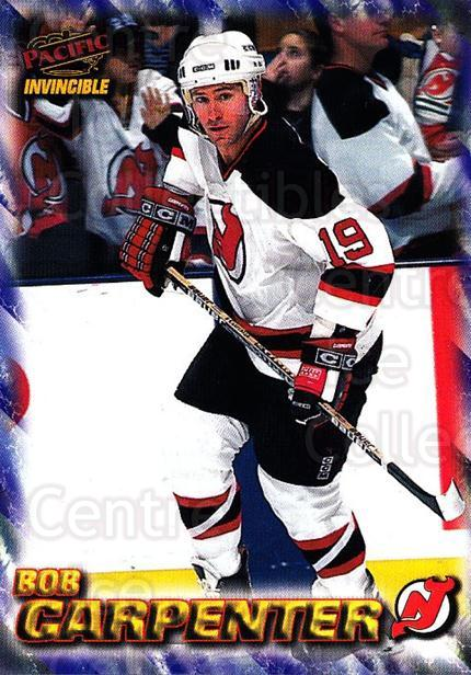 1997-98 Invincible NHL Regime #109 Bob Carpenter<br/>3 In Stock - $1.00 each - <a href=https://centericecollectibles.foxycart.com/cart?name=1997-98%20Invincible%20NHL%20Regime%20%23109%20Bob%20Carpenter...&quantity_max=3&price=$1.00&code=59927 class=foxycart> Buy it now! </a>