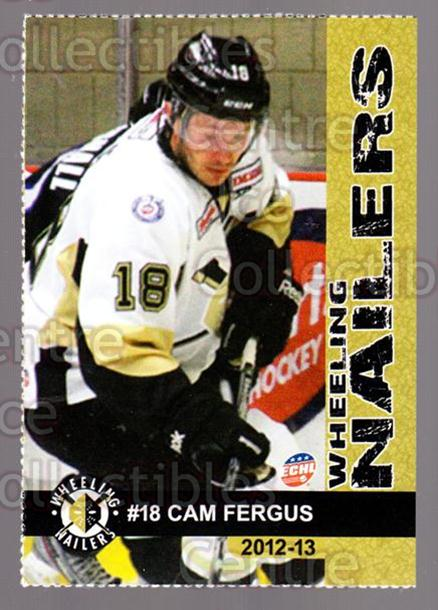 2012-13 Wheeling Nailers #8 Cam Fergus<br/>5 In Stock - $3.00 each - <a href=https://centericecollectibles.foxycart.com/cart?name=2012-13%20Wheeling%20Nailers%20%238%20Cam%20Fergus...&quantity_max=5&price=$3.00&code=599341 class=foxycart> Buy it now! </a>