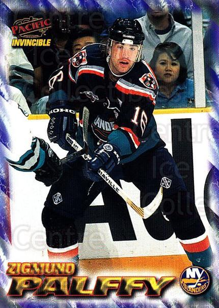 1997-98 Pacific Invincible NHL Regime #119 Zigmund Palffy<br/>4 In Stock - $1.00 each - <a href=https://centericecollectibles.foxycart.com/cart?name=1997-98%20Pacific%20Invincible%20NHL%20Regime%20%23119%20Zigmund%20Palffy...&quantity_max=4&price=$1.00&code=59938 class=foxycart> Buy it now! </a>