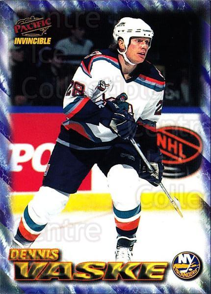 1997-98 Pacific Invincible NHL Regime #122 Dennis Vaske<br/>4 In Stock - $1.00 each - <a href=https://centericecollectibles.foxycart.com/cart?name=1997-98%20Pacific%20Invincible%20NHL%20Regime%20%23122%20Dennis%20Vaske...&quantity_max=4&price=$1.00&code=59942 class=foxycart> Buy it now! </a>