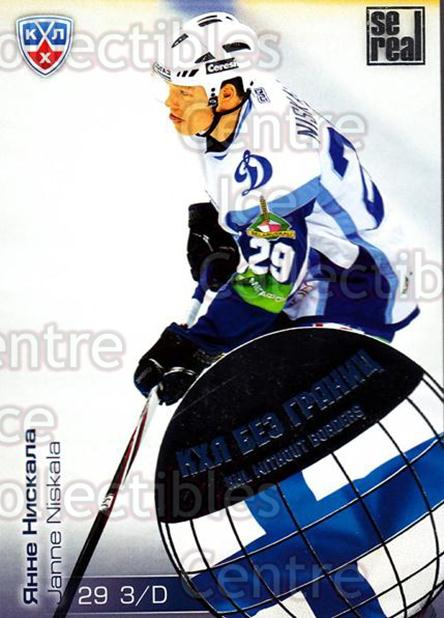 2012-13 Russian KHL AS Series Without Borders #36 Janne Niskala<br/>6 In Stock - $2.00 each - <a href=https://centericecollectibles.foxycart.com/cart?name=2012-13%20Russian%20KHL%20AS%20Series%20Without%20Borders%20%2336%20Janne%20Niskala...&quantity_max=6&price=$2.00&code=599447 class=foxycart> Buy it now! </a>