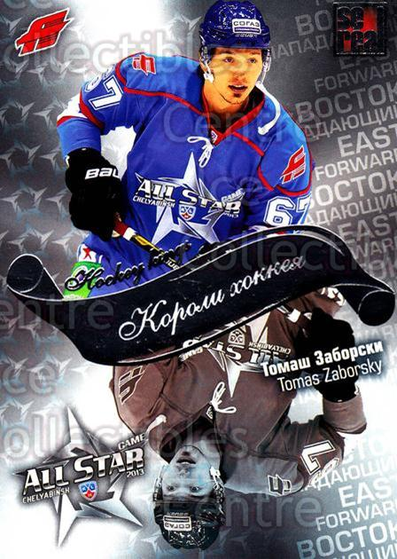 2012-13 Russian KHL AS Series Hockey Kings #12 Tomas Zaborsky<br/>4 In Stock - $2.00 each - <a href=https://centericecollectibles.foxycart.com/cart?name=2012-13%20Russian%20KHL%20AS%20Series%20Hockey%20Kings%20%2312%20Tomas%20Zaborsky...&quantity_max=4&price=$2.00&code=599523 class=foxycart> Buy it now! </a>