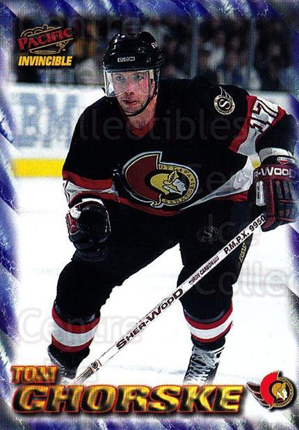 1997-98 Pacific Invincible NHL Regime #132 Tom Chorske<br/>4 In Stock - $1.00 each - <a href=https://centericecollectibles.foxycart.com/cart?name=1997-98%20Pacific%20Invincible%20NHL%20Regime%20%23132%20Tom%20Chorske...&quantity_max=4&price=$1.00&code=59952 class=foxycart> Buy it now! </a>