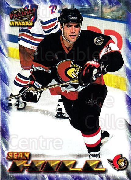 1997-98 Pacific Invincible NHL Regime #133 Sean Hill<br/>4 In Stock - $1.00 each - <a href=https://centericecollectibles.foxycart.com/cart?name=1997-98%20Pacific%20Invincible%20NHL%20Regime%20%23133%20Sean%20Hill...&quantity_max=4&price=$1.00&code=59953 class=foxycart> Buy it now! </a>