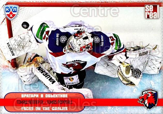 2012-13 Russian KHL AS Series Focus on the Goalies #9 Tomas Popperle<br/>6 In Stock - $2.00 each - <a href=https://centericecollectibles.foxycart.com/cart?name=2012-13%20Russian%20KHL%20AS%20Series%20Focus%20on%20the%20Goalies%20%239%20Tomas%20Popperle...&quantity_max=6&price=$2.00&code=599570 class=foxycart> Buy it now! </a>