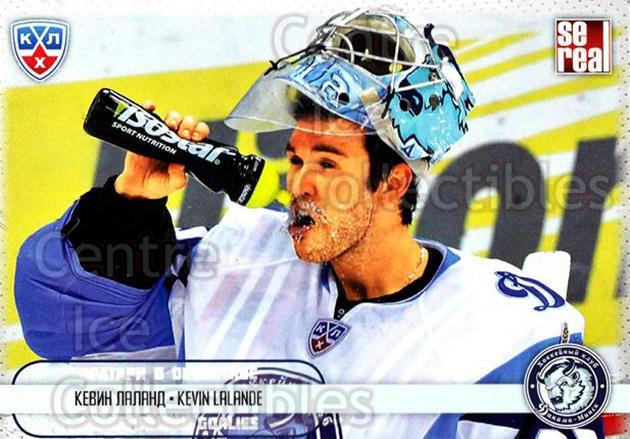 2012-13 Russian KHL AS Series Focus on the Goalies #17 Kevin Lalande<br/>8 In Stock - $2.00 each - <a href=https://centericecollectibles.foxycart.com/cart?name=2012-13%20Russian%20KHL%20AS%20Series%20Focus%20on%20the%20Goalies%20%2317%20Kevin%20Lalande...&quantity_max=8&price=$2.00&code=599578 class=foxycart> Buy it now! </a>