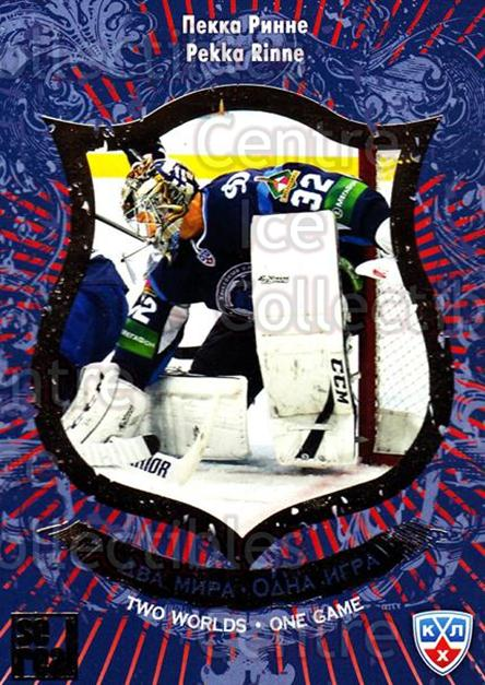 2012-13 Russian KHL AS Series Two Worlds One Game #21 Pekka Rinne<br/>10 In Stock - $2.00 each - <a href=https://centericecollectibles.foxycart.com/cart?name=2012-13%20Russian%20KHL%20AS%20Series%20Two%20Worlds%20One%20Game%20%2321%20Pekka%20Rinne...&quantity_max=10&price=$2.00&code=599632 class=foxycart> Buy it now! </a>