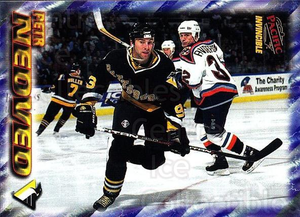 1997-98 Invincible NHL Regime #163 Petr Nedved<br/>4 In Stock - $1.00 each - <a href=https://centericecollectibles.foxycart.com/cart?name=1997-98%20Invincible%20NHL%20Regime%20%23163%20Petr%20Nedved...&quantity_max=4&price=$1.00&code=59982 class=foxycart> Buy it now! </a>