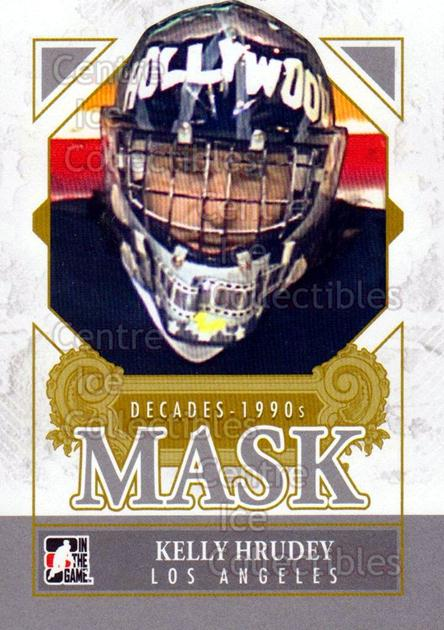 2013-14 ITG Decades 1990s Mask #13 Kelly Hrudey<br/>1 In Stock - $3.00 each - <a href=https://centericecollectibles.foxycart.com/cart?name=2013-14%20ITG%20Decades%201990s%20Mask%20%2313%20Kelly%20Hrudey...&quantity_max=1&price=$3.00&code=599960 class=foxycart> Buy it now! </a>
