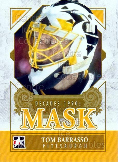 2013-14 ITG Decades 1990s Mask #22 Tom Barrasso<br/>2 In Stock - $3.00 each - <a href=https://centericecollectibles.foxycart.com/cart?name=2013-14%20ITG%20Decades%201990s%20Mask%20%2322%20Tom%20Barrasso...&price=$3.00&code=599969 class=foxycart> Buy it now! </a>