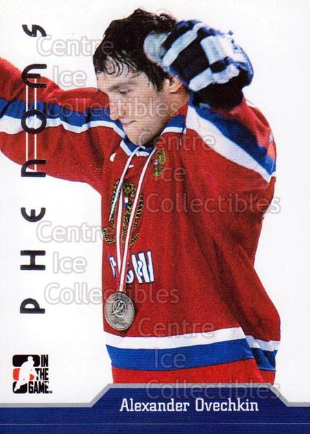 2006 ITG Phenoms #AO5 Alexander Ovechkin<br/>5 In Stock - $3.00 each - <a href=https://centericecollectibles.foxycart.com/cart?name=2006%20ITG%20Phenoms%20%23AO5%20Alexander%20Ovech...&price=$3.00&code=599997 class=foxycart> Buy it now! </a>