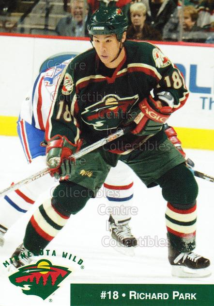 2002-03 Minnesota Wild Crime Prevention #13 Richard Park<br/>4 In Stock - $3.00 each - <a href=https://centericecollectibles.foxycart.com/cart?name=2002-03%20Minnesota%20Wild%20Crime%20Prevention%20%2313%20Richard%20Park...&price=$3.00&code=600015 class=foxycart> Buy it now! </a>