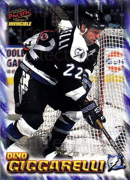 1997-98 Pacific Invincible NHL Regime #183 Dino Ciccarelli<br/>3 In Stock - $1.00 each - <a href=https://centericecollectibles.foxycart.com/cart?name=1997-98%20Pacific%20Invincible%20NHL%20Regime%20%23183%20Dino%20Ciccarelli...&quantity_max=3&price=$1.00&code=60002 class=foxycart> Buy it now! </a>