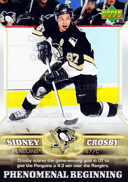 2005-06 UD Sidney Crosby Phenomenal Beginning Silver #17 Sidney Crosby<br/>4 In Stock - $3.00 each - <a href=https://centericecollectibles.foxycart.com/cart?name=2005-06%20UD%20Sidney%20Crosby%20Phenomenal%20Beginning%20Silver%20%2317%20Sidney%20Crosby...&quantity_max=4&price=$3.00&code=600038 class=foxycart> Buy it now! </a>