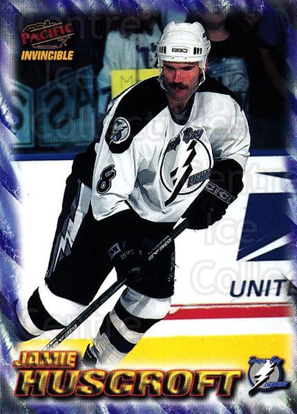1997-98 Pacific Invincible NHL Regime #185 Jamie Huscroft<br/>1 In Stock - $1.00 each - <a href=https://centericecollectibles.foxycart.com/cart?name=1997-98%20Pacific%20Invincible%20NHL%20Regime%20%23185%20Jamie%20Huscroft...&quantity_max=1&price=$1.00&code=60003 class=foxycart> Buy it now! </a>