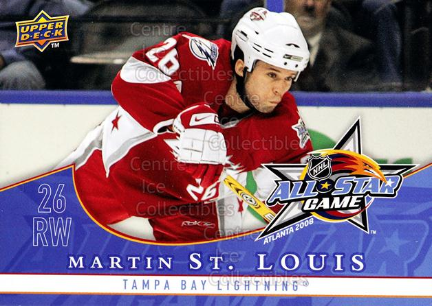 2008-09 Upper Deck AS #13 Martin St. Louis<br/>1 In Stock - $3.00 each - <a href=https://centericecollectibles.foxycart.com/cart?name=2008-09%20Upper%20Deck%20AS%20%2313%20Martin%20St.%20Loui...&quantity_max=1&price=$3.00&code=600054 class=foxycart> Buy it now! </a>