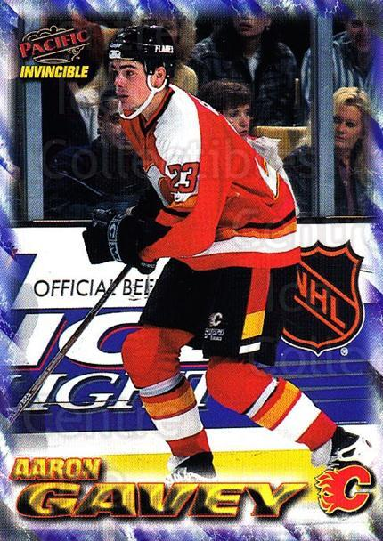 1997-98 Pacific Invincible NHL Regime #27 Aaron Gavey<br/>1 In Stock - $1.00 each - <a href=https://centericecollectibles.foxycart.com/cart?name=1997-98%20Pacific%20Invincible%20NHL%20Regime%20%2327%20Aaron%20Gavey...&quantity_max=1&price=$1.00&code=60038 class=foxycart> Buy it now! </a>