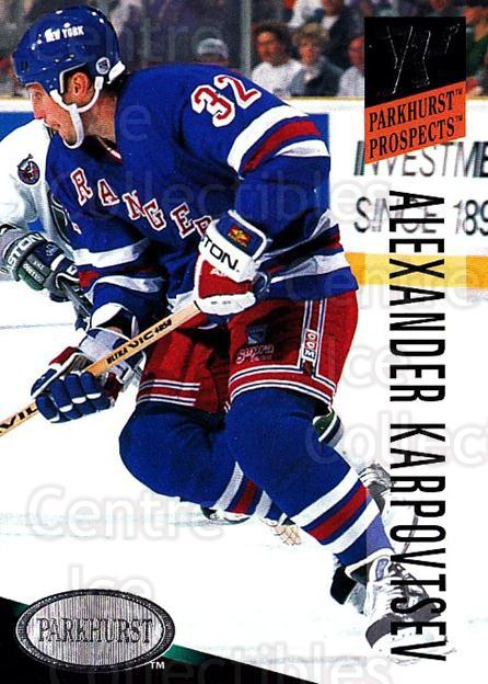 1993-94 Parkhurst #269 Alexander Karpovtsev<br/>5 In Stock - $1.00 each - <a href=https://centericecollectibles.foxycart.com/cart?name=1993-94%20Parkhurst%20%23269%20Alexander%20Karpo...&quantity_max=5&price=$1.00&code=6004 class=foxycart> Buy it now! </a>