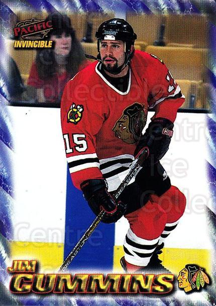 1997-98 Pacific Invincible NHL Regime #44 Jim Cummins<br/>5 In Stock - $1.00 each - <a href=https://centericecollectibles.foxycart.com/cart?name=1997-98%20Pacific%20Invincible%20NHL%20Regime%20%2344%20Jim%20Cummins...&quantity_max=5&price=$1.00&code=60055 class=foxycart> Buy it now! </a>