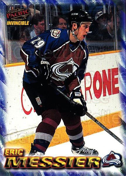 1997-98 Pacific Invincible NHL Regime #55 Eric Messier<br/>5 In Stock - $1.00 each - <a href=https://centericecollectibles.foxycart.com/cart?name=1997-98%20Pacific%20Invincible%20NHL%20Regime%20%2355%20Eric%20Messier...&quantity_max=5&price=$1.00&code=60066 class=foxycart> Buy it now! </a>