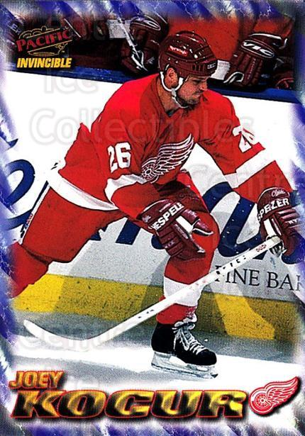 1997-98 Pacific Invincible NHL Regime #70 Joey Kocur<br/>2 In Stock - $1.00 each - <a href=https://centericecollectibles.foxycart.com/cart?name=1997-98%20Pacific%20Invincible%20NHL%20Regime%20%2370%20Joey%20Kocur...&quantity_max=2&price=$1.00&code=60073 class=foxycart> Buy it now! </a>